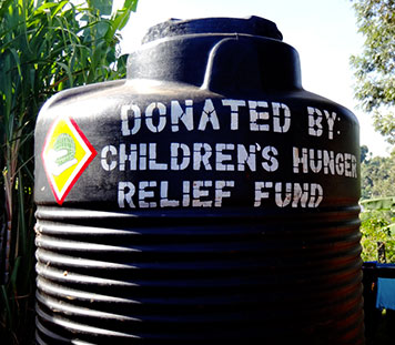 providing clean water to poor children